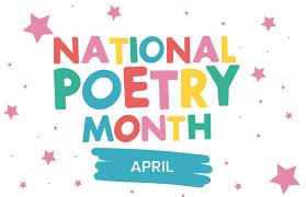 Avril est le Mois national de la poésie