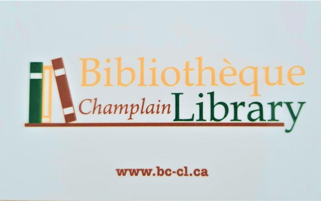 Septembre est le mois de l'inscription à la carte de bibliothèque